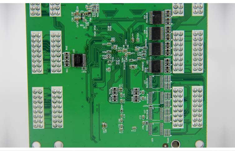 汽车检测主板DIP插件加工